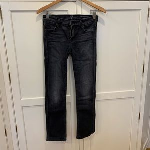 Modern straight jeans from 7 For All Mankind